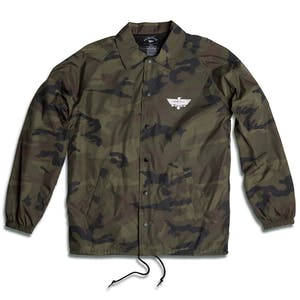 Primitive Thunder Bird Coaches Jacket - Camo