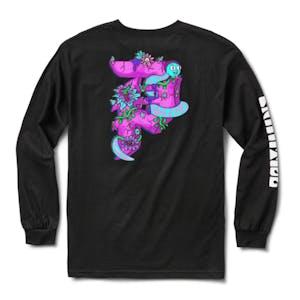 Primitive x Rick & Morty Dirty P Long Sleeve T-Shirt - Black