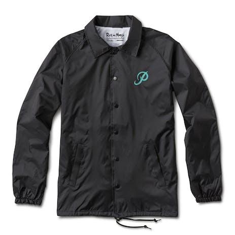 Primitive x Rick & Morty Portal Coaches Jacket - Black