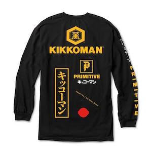 Primitive x Kikkoman Season Long Sleeve T-Shirt - Black