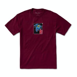 Primitive Connections T-Shirt - Burgundy