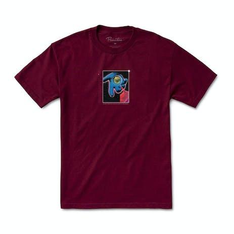 Primitive Connections T-Shirt - Burgundy
