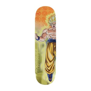 "Primitive x Dragon Ball Z Goku Power-Up 8.0"" Skateboard Deck - Rodriguez"