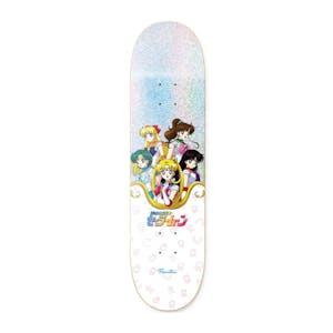 "Primitive x Sailor Moon Inner Senshi 8.38"" Skateboard Deck"