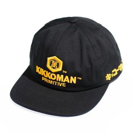 Primitive x Kikkoman Snapback Hat - Black