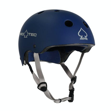Pro-Tec Classic Certified Skate Helmet - Matte Blue