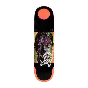 "Quasi Bledsoe Blacklight 8.5"" Skateboard Deck - Red"