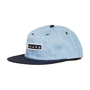 Quasi Bobby 6-Panel Cap - Navy
