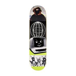 "Quasi Kraftwerk 8.25"" Skateboard Deck - Green"