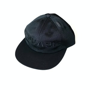 Quasi Perf Adjustable Cap - Black