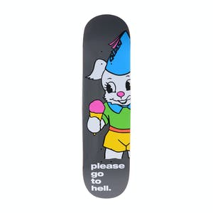 "Quasi Go To Hell 8.25"" Skateboard Deck - Black"