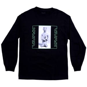 Quasi Relic Long Sleeve T-Shirt - Black