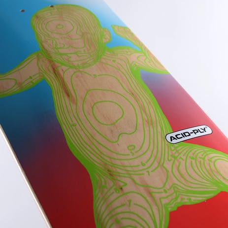 "Quasi Star Child 8.625"" Skateboard Deck - Natural"