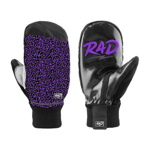 RAD Ripper Snowboard Mitts 2019 - Purple Leopard