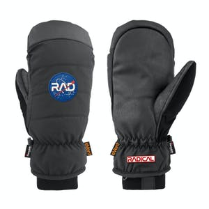 RAD Downer Snowboard Mitts 2020 - Black