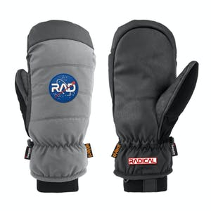 RAD Downer Snowboard Mitts 2020 - Grey