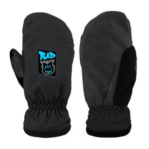 RAD Squad Snowboard Mitts 2021 - Frother Black