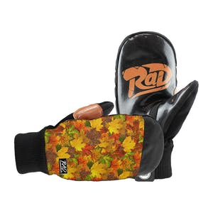 RAD Ripper Snowboard Mitts - Scotty Vine Leaves