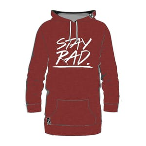 RAD Stay Rad Hoodie – Earth Red