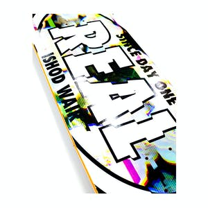 "Real Ishod Glitch Oval 8.5"" Skateboard Deck"