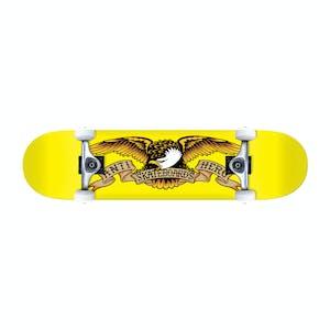 "Antihero Classic Eagle 7.38"" Complete Skateboard - Yellow"