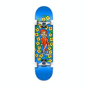 "Krooked Gonz Sweatpants 7.75"" Complete Skateboard - Blue"