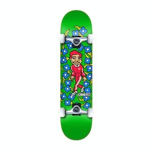 """Krooked Gonz Sweatpants 8.25"""" Complete Skateboard - Green"""