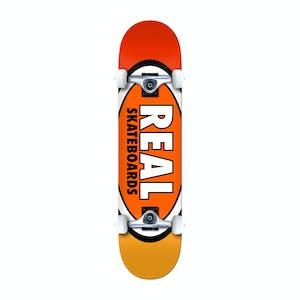 "Real Team Edition Oval 7.75"" Complete Skateboard - Orange"