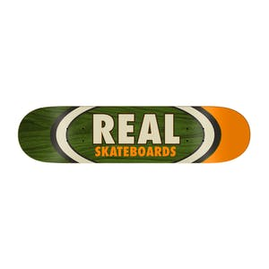 "Real Dual Oval 8.5"" Skateboard Deck"