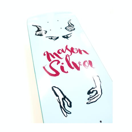 """Real Mason By Natas 8.28"""" Skateboard Deck"""