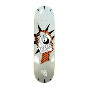 "Krooked Worrest Liburty Slick 8.3"" Skateboard Deck - Twin Tail"