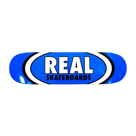 """Real Classic Oval 8.5"""" Skateboard Deck - Blue"""