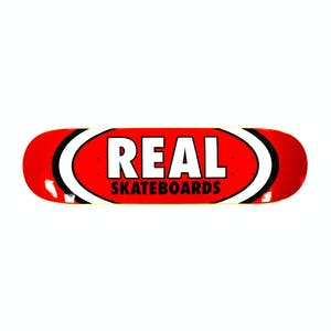 """Real Classic Oval 8.125"""" Skateboard Deck - Red"""