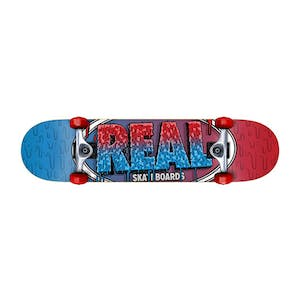 "Real Slime Fades 7.75"" Complete Skateboard"