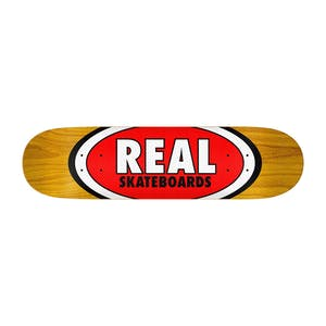 "Real Am Oval 8.5"" Skateboard Deck - Hermann Stene"