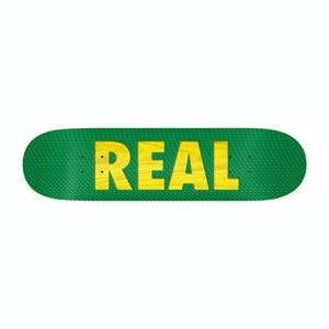 "Real Bold Team 8.38"" Skateboard Deck - Green"