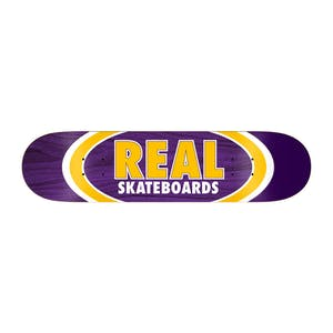 "Real Dual Oval 8.38"" Skateboard Deck"