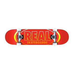 "Real Oval Gleams 8.0"" Complete Skateboard"