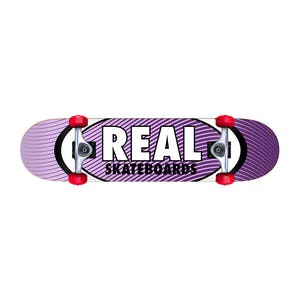"Real Oval Heatwave 7.3"" Mini Complete Skateboard"