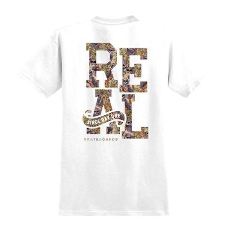 Real Stacked Koala T-Shirt — White