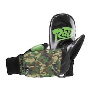 RAD Ripper Snowboard Mitts - Camo