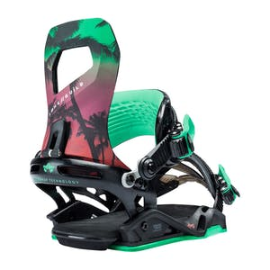 Rome Guild Women's Snowboard Bindings 2018 - Tropical