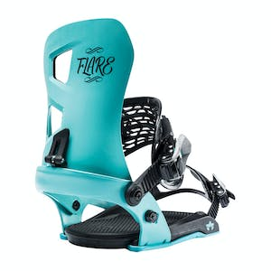 Rome Flare Women's Snowboard Bindings 2019 - Mint