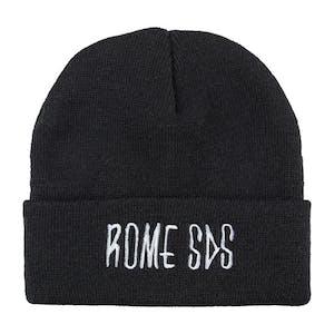 Rome Skelter Beanie - Black