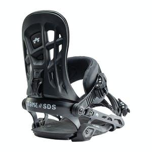 Rome 390 Boss Snowboard Bindings 2020 - Black