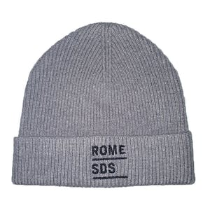 Rome Stacked Beanie - Grey