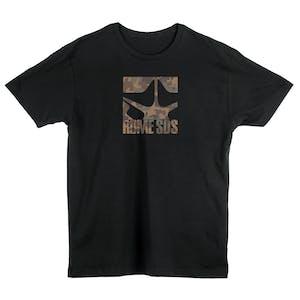 Rome Camo Logo T-Shirt - Black