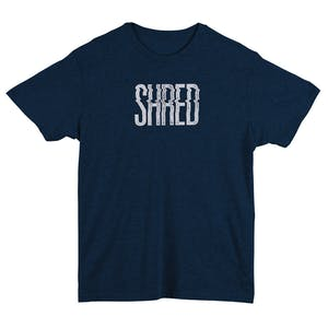 Rome Shred T-Shirt - Heather Navy
