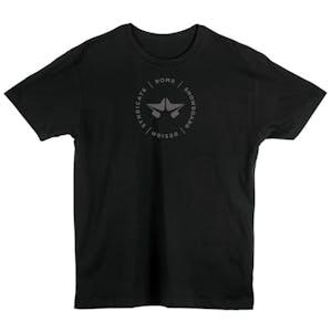 Rome Star T-Shirt - Black