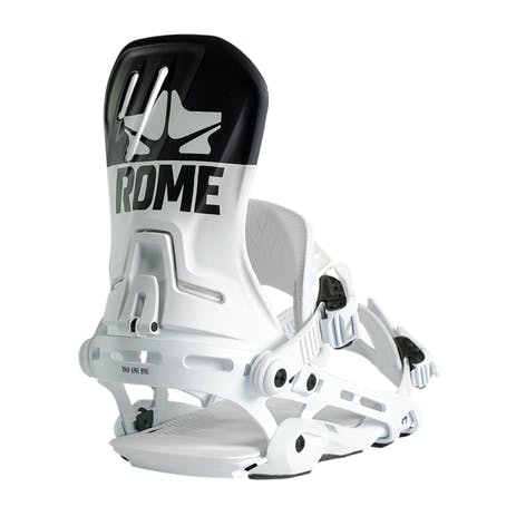 Rome D.O.D Snowboard Bindings 2020 - White Logo